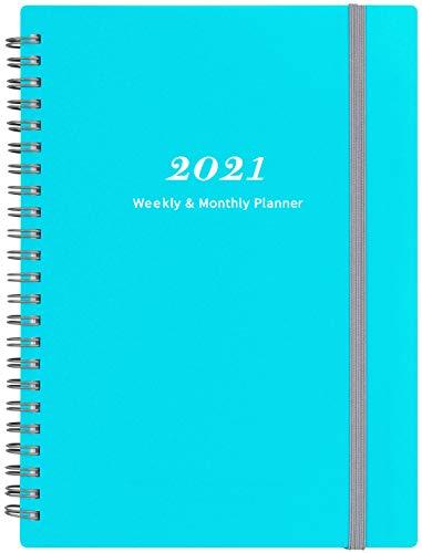 Agenda A5 a spirale 2021 Verde