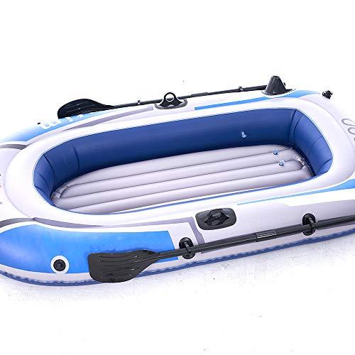 LNLN Aufblasbare Schwimmende Reihe Ponton Fischerboot Beiboot Schlauchboot Schwimmbad Aufblasbare Erwachsenen Schwimmbad Schwimmenden Sommer Strandfest,threepeople