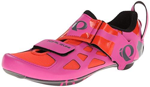 PEARL IZUMI Women's w tri Fly v Carbon hp/b-w, Hot Pink/Black, 36 EU/5.2 B US