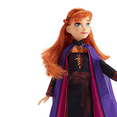 Disney Frozen Anna Fashion Doll With Long Red Hair and Outfit Inspired by Frozen 2 – Toy for Kids 3 Years Old and Up