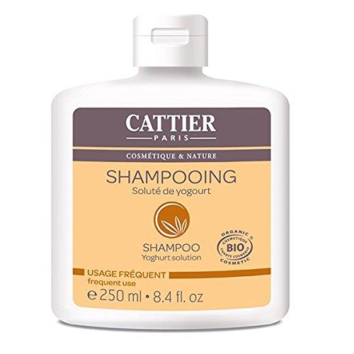 Cattier Shampooing Soluté de Yogourt Usage Fréquent 250 ml