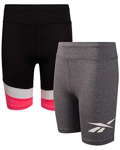 Reebok Girls Athletic Bike Shorts -…
