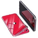ONES 全透明 iPhone SE/8/7 ケース 耐衝撃 超軍用規格 〔持ちやすい、滑り止め、すり傷防止〕〔美しい、光沢感、軽·薄〕 柔軟 衝撃吸収 HQ·TPU クリア カバー