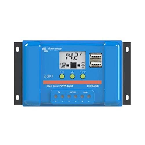 Victron Energy - Regulador solar pwm 5a lcd&usb - 12/24 V