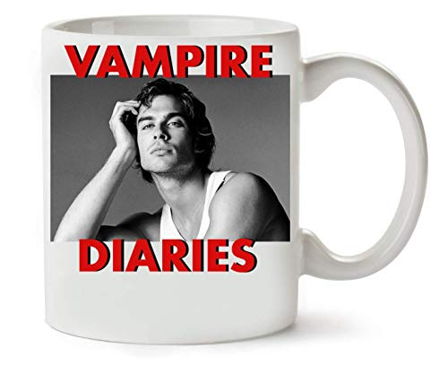 Wicked Design Vampire Diaries Damon Salvatore Klassische Teetasse Kaffeetasse