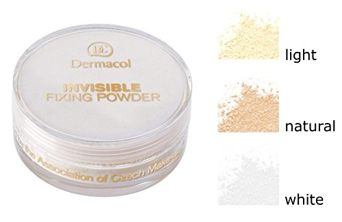 Dermacol Invisible Fixing Powder Natural, 13 g