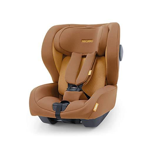 Recaro Kids, siège-auto Kio i-Size, Siège Auto Bébé Isofix réversible (face/dos route) Groupe 0/1 (60-105cm), Installation avec la base Avan/Kio, Aération Optimale, Confort et Sécurité, Sweet Curry