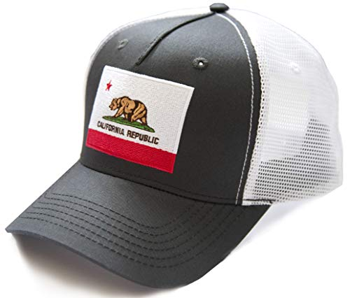 International Tie California State Bear Flag Premium-Quality Hat