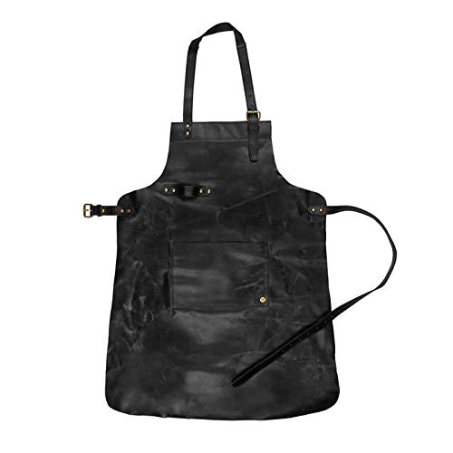 Legend Forge Leather Work Apron (Black)