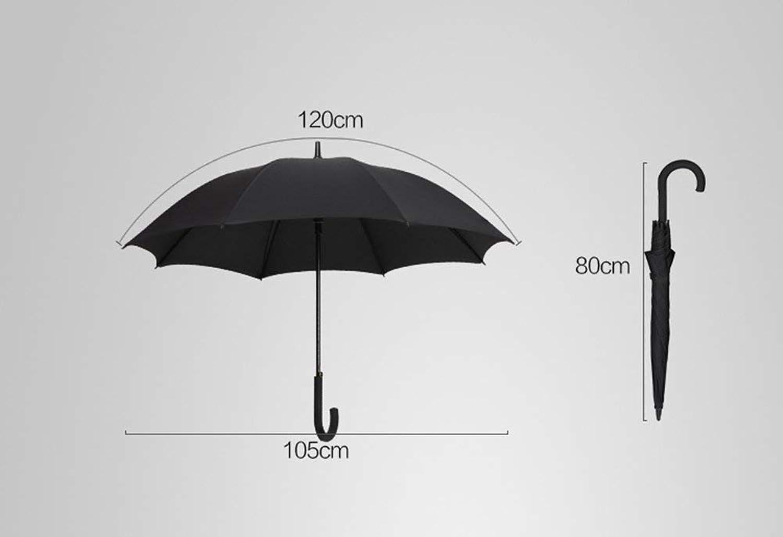 Umbrella, Upscale Men Commerce Increase Fold Windproof Rainproof Foldable, Non-Slip Handle Windproof Umbrella, ZDS