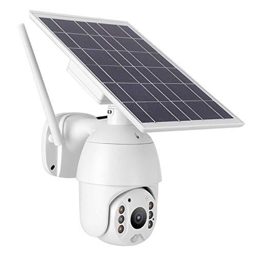 Cámara PTZ CAM IP Detección de Movimiento de energía Solar para Exteriores