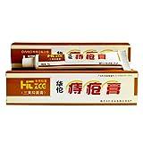 Ungüento para hemorroides, 25g Ungüento para hemorroides Hua Tuo Ungüento natural a base de plantas Crema para hemorroides potente