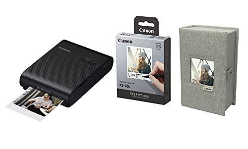 SELPHY QX10 Premium Kit - Kit de Accesorios, Color Negro