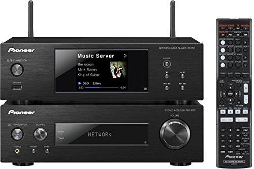 Pioneer XN-P02-K Kompaktanlage ohne Lautsprecher (Stereo-Receiver, Netzwerk Player, 2x 75 Watt, Direct Energy HD Endstufen, WiFi, Bluetooth) schwarz