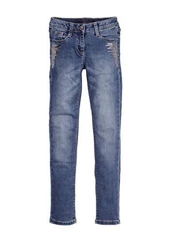 s.Oliver s.Oliver Mädchen 66.811.71.3258.Slim Jeans, Blau (Blue Denim Stretch 56z4), 170