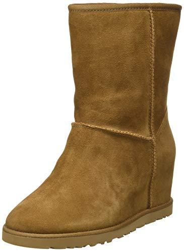 UGG Female Classic Femme Short Classic Boot, Chestnut, 4 (UK)