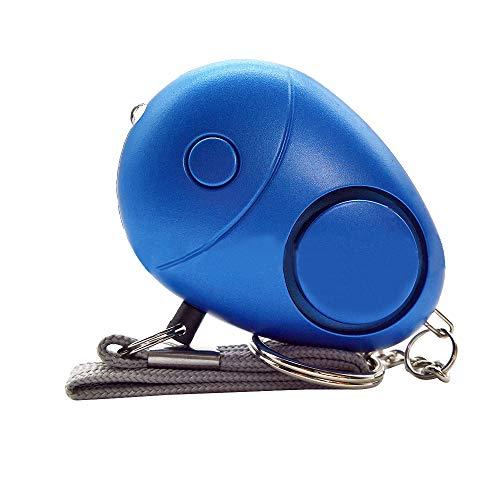 Wenore persoonlijk alarm, 120-130 dB politie goedgekeurd persoonlijk veiligheidsalarm noodgeval zelfverdediging veiligheidsalarm keychain LED-zaklamp voor vrouwen meisjes kinderen ouder