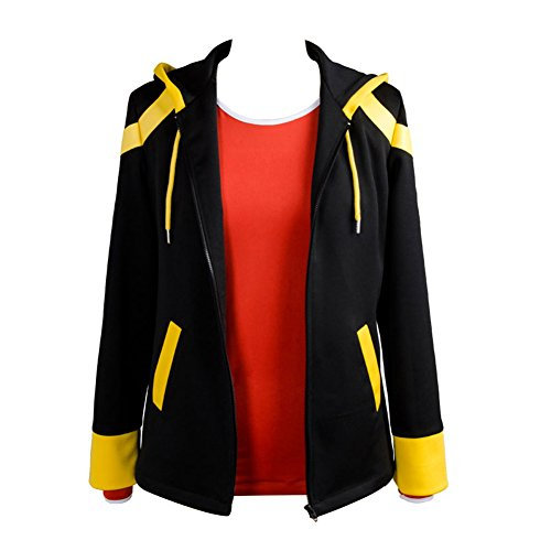 Yancos Unisex School Uniform 707 Extreme Saeyoung/Luciel Choi 7 Outfit Cosplay Costume,Boys,X-Small
