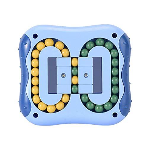 Ahagut Bean Cube Rotatif Jouet Créatif Bean Cube Jouet De Décompression Casse-tête Puzzles Ensemble Jouets De Soulagement du Stress, pour Enfants Et Adultes