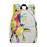 Mochila, diseño de Jirafa Colorida para la Escuela del bebé, Mochila Estampada a la Moda, Bolso de Hombro para Hombres y Mujeres, niños y niñas