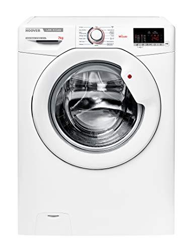 Hoover HSX4 1472D3/1-84 Waschmaschine / 7 kg / 1400 U/Min/Smarte Bedienung mit Wi-Fi und Bluetooth/Tiefe nur 45 cm/ActiveSteam – Dampffunktion
