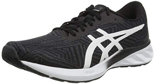 ASICS Womens Roadblast Running Shoe, Black/White,39.5 EU