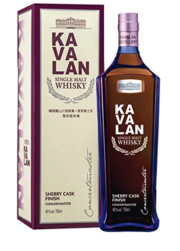 Kavalan Concertmaster Sherry Cask Finish 0,7 Liter 40% Vol.