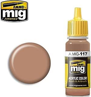 Ammo of Mig Jimenez Acrylic Color Brushes & Airbrush Warm Skin Tone 17ml #0117