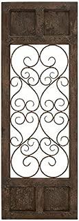 Deco 79 52792 Wood & Metal Wall Panel