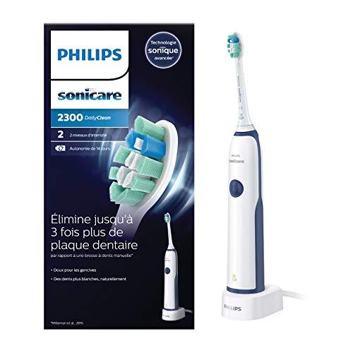 PHILIPS - HX3212/65 - Sonicare Dailyclean 2300 Plaque Defence Brosse À Dents Électrique