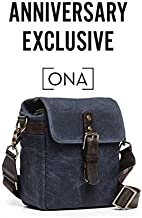 ONA - The Bond Street Camera Messenger Bag, Waxed Canvas (Oxford Blue)