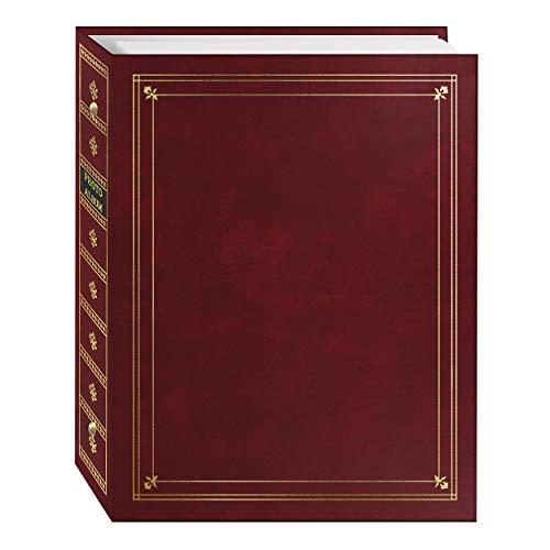 Pioneer APS 3-Ring Bi-Directional Le Memo Album, Burgundy