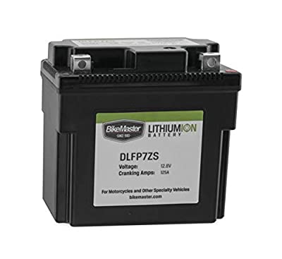 BikeMaster Lithium-Ion Battery DLFP7ZS for Yamaha TW200 Trailway 1987-2018