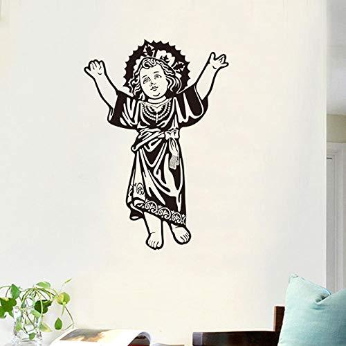 QTCXK Wandaufkleber, Wohnzimmer Schlafzimmer Schreibtisch Sofa Hintergrund Dekorative Aufkleber, Kreative Mode, Einfache Aufkleber, Madonna, 1