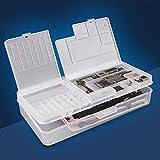 SS-001A Caja de almacenamiento de múltiples funciones de la pantalla LCD del teléfono placa base virutas del IC de piezas de reparación de teléfonos Organizador Caja de almacenamiento