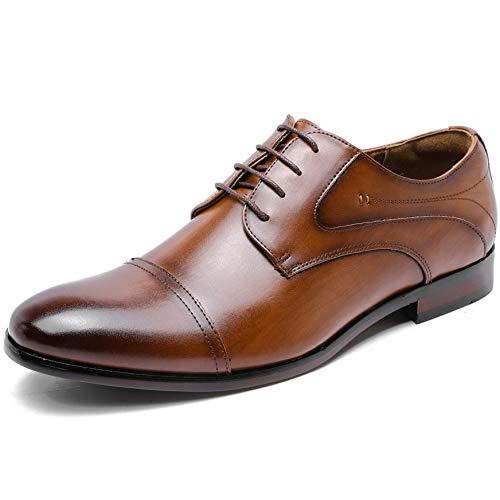 [フォクスセンス] ビジネスシューズ 革靴 軽量・撥水 高級紳士靴 メンズ 本革 ストレートチップ 外羽根 ブラウン 26.0cm P509-02