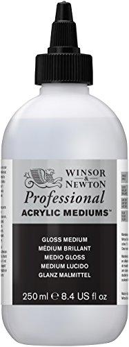 Winsor & Newton - Medium lucido acrilico, 250 ml