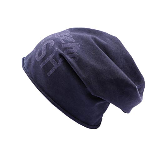 JBB COUTURE Bonnet Oversize Sorry I'm Fresh Bleu - Mixte
