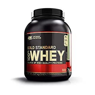 Optimum Nutrition Gold Standard Whey Muscle Building and Recovery Protein Powder With Glutamine and Amino Acids, Chocolate Mint, 73 Servings, 2.26 kg, Packaging May Vary (B000GIPJY8)   Amazon price tracker / tracking, Amazon price history charts, Amazon price watches, Amazon price drop alerts