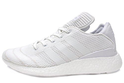 Adidas Busenitz Pure Boost (10.5 D(M) US Mens, Ftwwht/Ftwwht/Ftwwht)