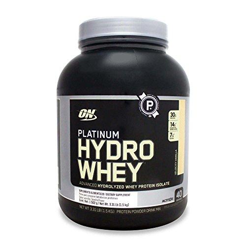 Platinum Hydro Whey (1,5Kg) - Sabor Baunilha, OPTIMUM NUTRITION