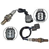 MAXFAVOR 2Pcs Air Fuel Ratio Oxygen Sensor Upper&Under Replacment for O2 Sensor 2002 2003 2004 Honda CR-V 2.4L 234-9005 234-4125 02 Sensor