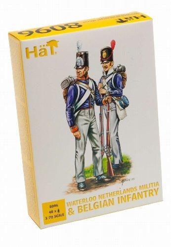 HAT Industrie HäT 8096 – Waterloo Miliz Hollandais et Infanterie Belge