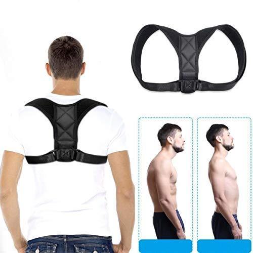 Haltungskorrektur Geradehalter für Rücken Schulter Haltungskorrektur Rückenstütze Rückentrainer für Bessere Körperhaltung Einstellen Haltungstrainer für Damen Herren Schulterträger Rückenstabilisator