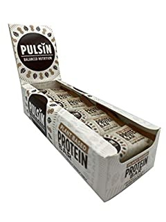 Pulsin Healthy Snack Natural Plant Based Vegan Peanut Choc Chip Protein Bar18x50 g (Gluten Free / Palm Oil Free / Dairy Free) (B07K7RDLHY)   Amazon price tracker / tracking, Amazon price history charts, Amazon price watches, Amazon price drop alerts