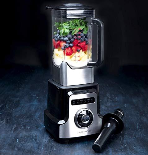 Gastronoma 18180001, Professioneller Power Standmixer, 3,0 Liter mit 32.000 Umdrehungen/min-Mixen wie der Profi,2000 Watt, Edelstahl ABS