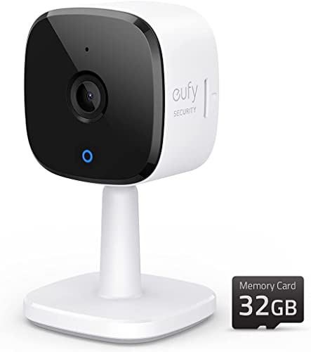 high quality eufy Security Solo IndoorCam discount C24, 2K outlet sale Security Indoor Camera, Plug-in Camera with 32GB microSD Card, Wi-Fi, Human and Pet AI, Voice Assistant Compatibility, Night Vision, Homebase not Compatible outlet online sale