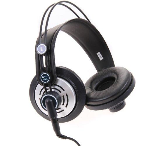 AKG Pro Audio K141 MKII Professional On-Ear Semi-Open Studio Headphones