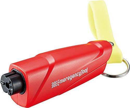 コジット ハンマー 緊急脱出 車用 コンパクトツール シートベルトカッター 防災グッズ レッド サイズ:10.0×3.0×15.5mm 90228