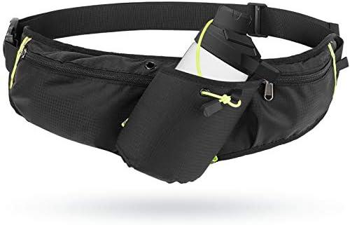 Odoland Running Belt Hydration Waist Pack with Water Bottle Holder for Men Women Waist Pouch product image